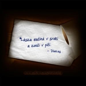 Láska začíná v srdci a končí...
