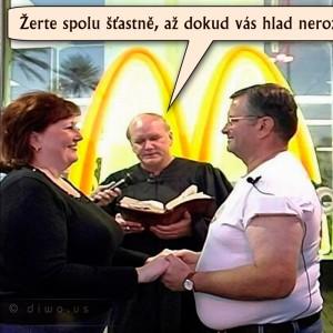 McDonald's - svatba