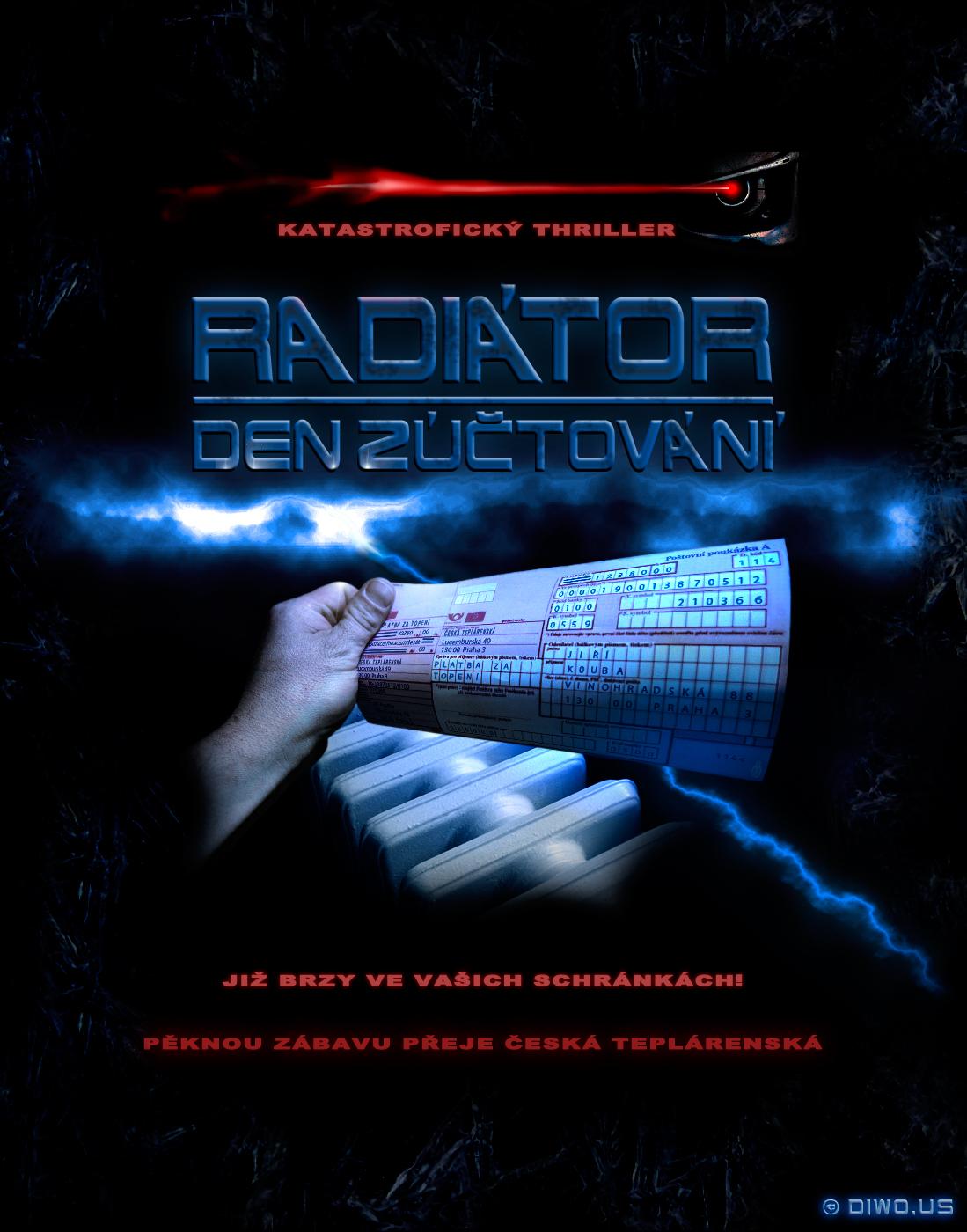 Katastrofický thriller RADIÁTOR