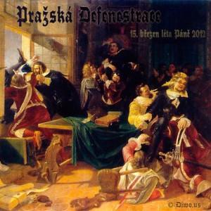 Pražská defenestrace 2012