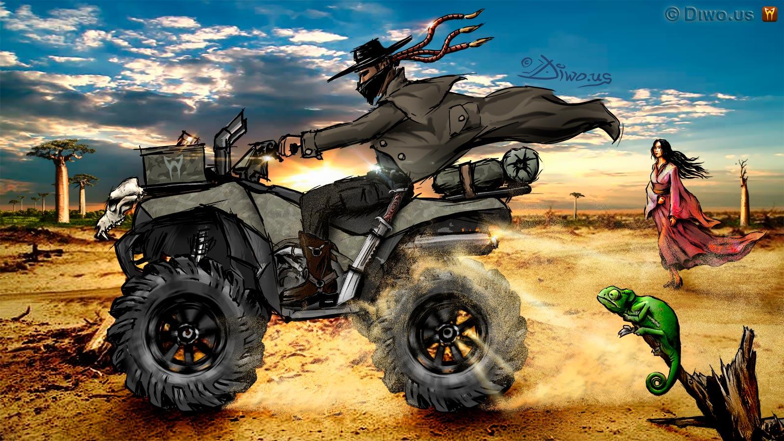 Quad Rider (Madagascar)