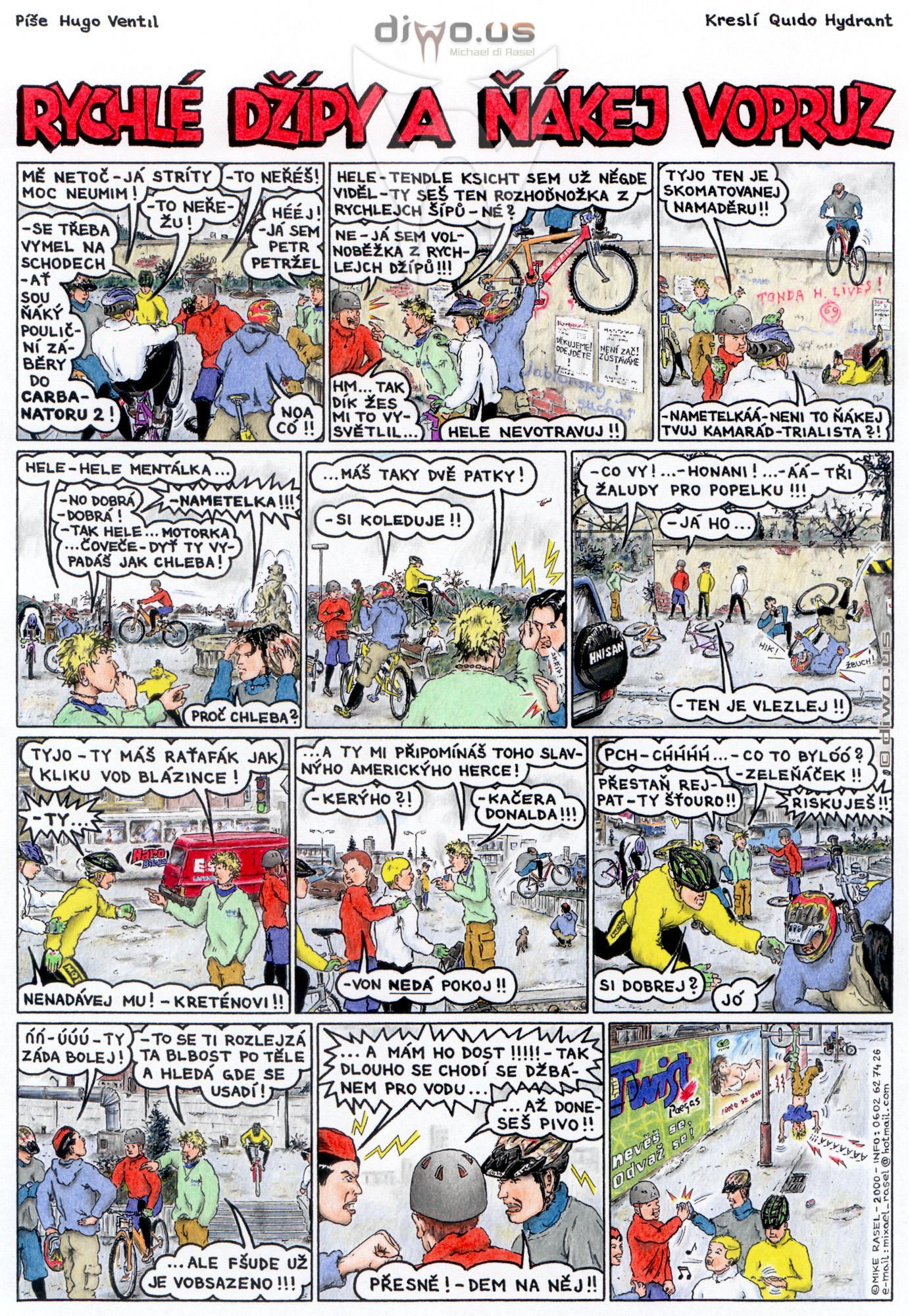díl č. 24 - Rychlé Džípy a ňákej vopruz