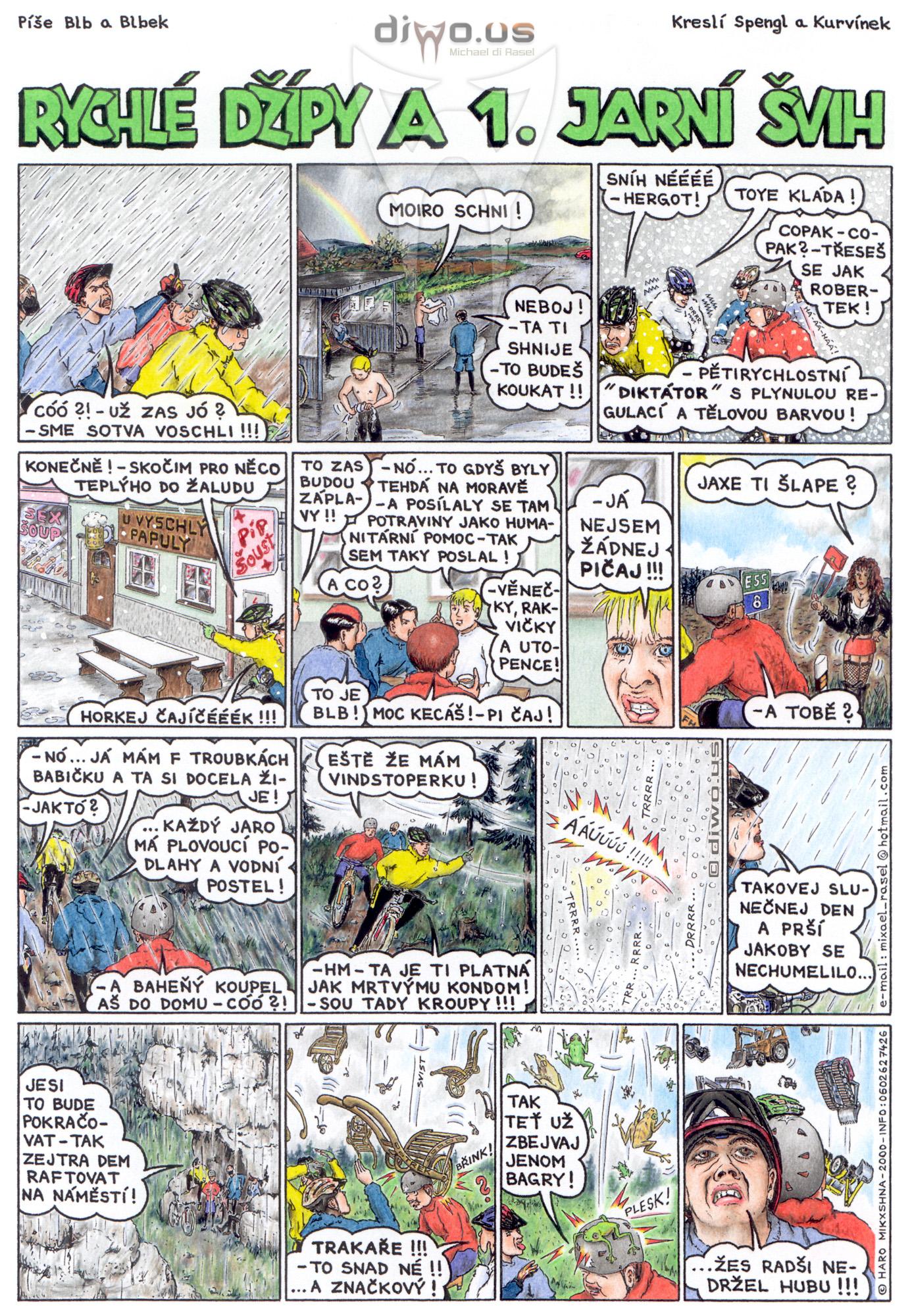 díl č. 25 - Rychlé Džípy a 1. jarní švih