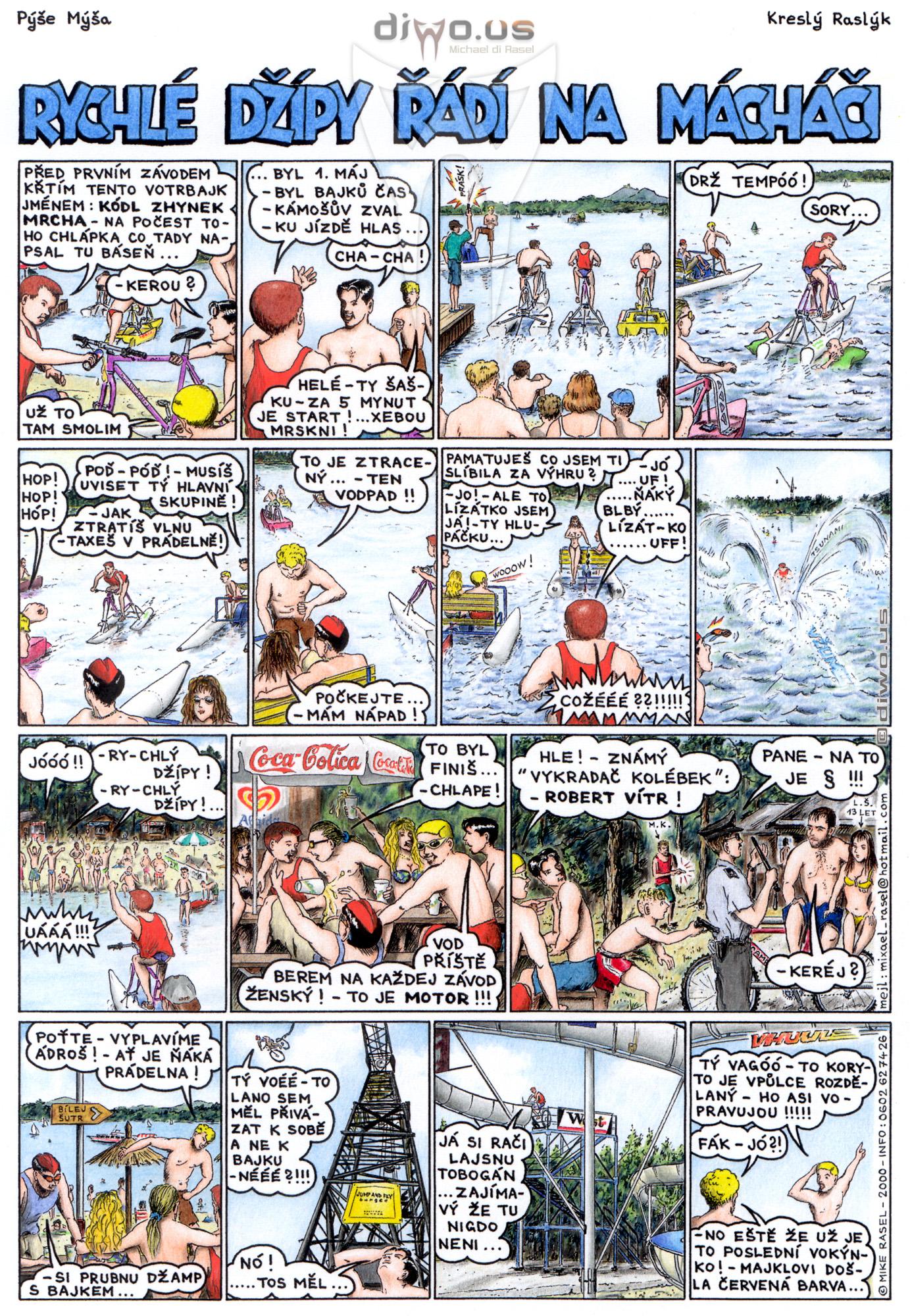 díl č. 28 - Rychlé Džípy řádí na Macháči