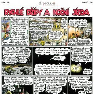 díl č. 9 - Rychlé Džípy a noční jízda