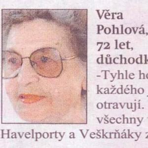 Věra Pohlová - Havelport