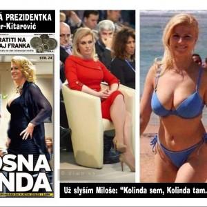 Chorvatská prezidentka