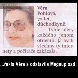 Věra Pohlová - Megaupload