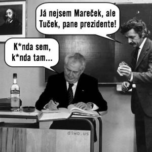 Miloš Zeman - kunda