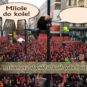 Miloše do koše!