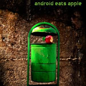 Android žere jAbko