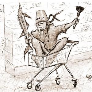 """Ilustrace humorných povídek """"Můj den Blbec!"""" č. 2"""