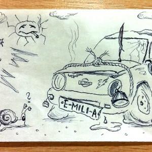 Kresby pro přátele - Emilia