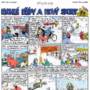 díl č. 23 - Rychlé Džípy a nový sport