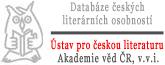 Divnej Brouk - databáze českých literárních osobností - Ústav pro českou literaturu, Akademie věd ČR, v.v.i. - logo