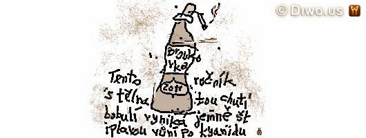 divnej brouk - povídky 2011 - Tento ročník s tělnatou chutí bobulí vyniká jemně ątiplavou vůní po kyanidu