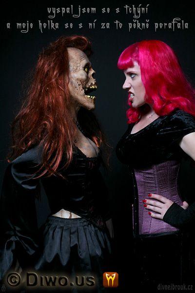 Divnej Brouk - moje holka, vyspal jsem se s tchýní, Jezebelle, zombie, Halloween