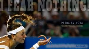 Diwous - Petra Kvitová, Wimbledon champion, česká lvice, škorpión, scorpion, Nebojím se ničeho!, I fear nothing!, podání, kurt, nike, cop