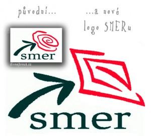 Divnej Brouk, Diwous, Fico, kontroverzní logo, nové, piča, politická strana, původní, Slovensko, SMER, sociálna demokracia