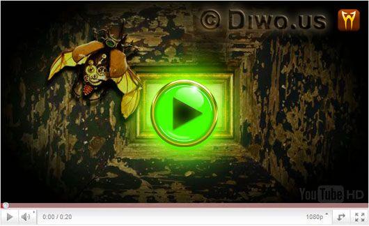 Diwous aka Divnej Brouk - Broukův receptář, Jak si zmalovat vejce, kraslice, humor, parodie, videotriky, youtubering, jůtůber