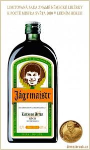 Diwous - Jaromír Jágr, Jágrmajstr, Jägermeister, MS hokej 2010, vítěz, Mistr světa, Köln, Lanxess Arena, Německo, limitovaná edice, vtip, humor