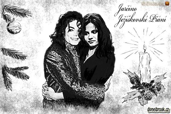 divnej brouk - kresba, vánoční přání, dekorace, Michael Jackson, král popu, stromeček, koule, zdobený svícen, myrta, svčka