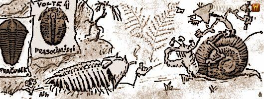 Diwous - humorné povídky, cyklus Jak dobÍt svět, Jak jsem přežil dinosaury, druhohory, e!e, gesto fuck off, hulení, Jura, kelt, marihuana, Mastodont, piraňosaurus, plakát, přeslička, Rambo, Rocky, Sylvester Stallone, tráva, Trilobit, Tyranosaurus, Velká Pardubická, Velociraptor, Wartburg
