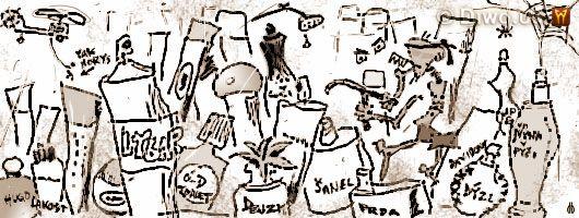 Diwous - humorné povídky, cyklus Jak dobÍt svět, Jak jsem hledal vanu, Armani, baklažán, Barbus, Boss, buldozer, Chanel, Davidoff, Diesel, Dolce&Gabbana, Gaultier, GPS navigace, Gucci, helikoptéra, Old Spice, Pendolino, Pitralon, Prada, Ricci, Solvina, sprchová hlavice, vana, Versace, Vietkong, virgule