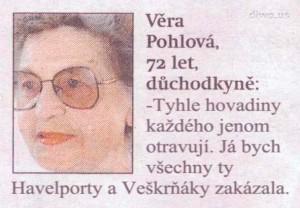 Diwo.us - Věra Pohlová - Havelport a Veškrňák (Letiště Václav Havel Praha)