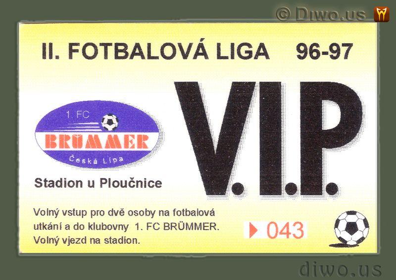 Diwous - VIP, V.I.P. vstupenka, karta, fotbalová liga, stadion, lóže