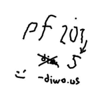 Diwous - pf 2015, humor, PéeFka, PF, přání do nového roku, přáníčko, vtip