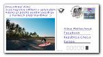 Diwous, Ema, surf, tropy, pohlednice, tropická pláž, Karibik, palmy, písek, západ, východ slunce, surfař