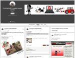 Diwous - FUJ!SLABIKÁŘ - Fanclub na Google+, fans, fanoušci, parodie, napodobenina, slabikář, brutál, krev, násilí, Žáček, Ema mele, máma, motorová pila, karikatura, kreslený komiks