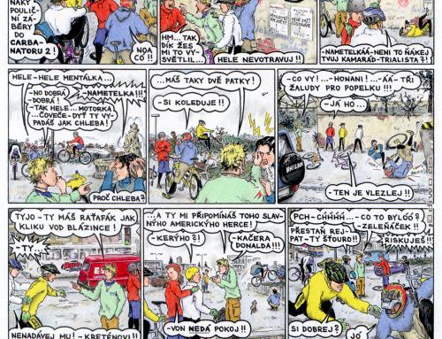 komiks Rychlé Džípy – originál – díl 24 – Ňákej vopruz