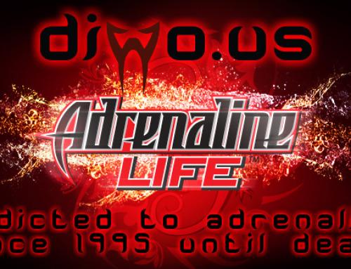 Diwous – Adrenalinový život – logo