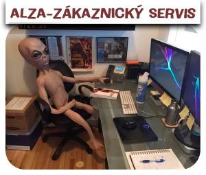 Diwous - Alza - zákaznický servis, Alzák, Alzazmrd, humor, mimozemšťan, onan, vtip