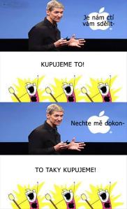 Diwous - Apple, ovce, novinka, vtip, humor, fanatismus, kult