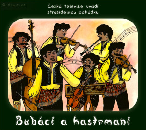 Diwous - Bubáci a hastrmani, cikáni, černý humor, romové, strašidelná pohádka, vtip, romská cikánská kapela, housle, cymbál