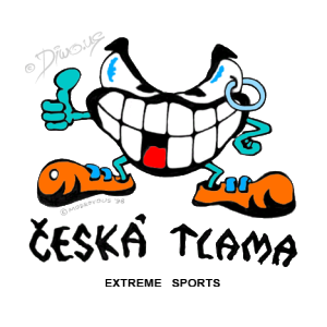 Diwous - Česká Tlama - Extreme Sports, logo, cartoon, comics, adrenaline, outdoor