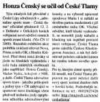 Diwous - Česká Tlama - Extreme Sports, novinový článek, Českolipské noviny, Česká Lípa, adrenalinové, extrémní, outdoorové sporty, tým, klub