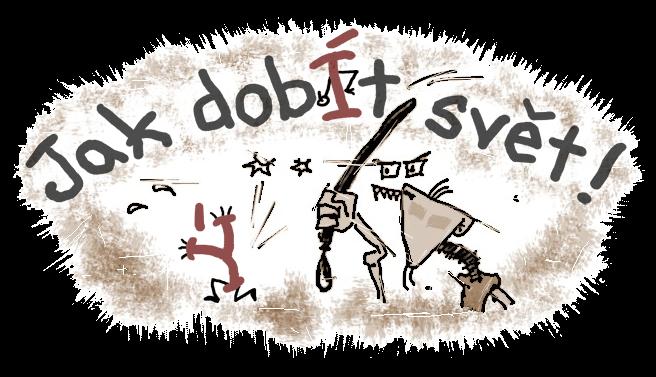 Diwous - Jak dobÍt svět! - logo pro slider