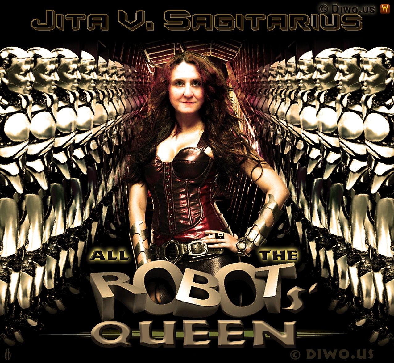 Diwous - Královna robotů Jita V. Sagitarius, Robots' Queen, robot