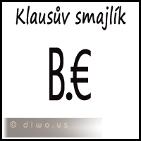 Diwous - Klausův smajlík, Václav Klaus, vtip