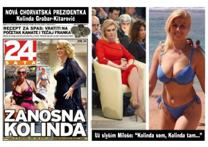 Diwous - Chorvatská prezidentka Kolinda Grabar-Kitarović - sexbomba, humor, kunda sem - kunda tam, Miloš Zeman, prezident, vtip