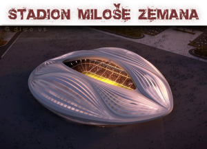 Diwous - Stadion Miloše Zemana - kunda, humor, kunda, Miloš, vtip