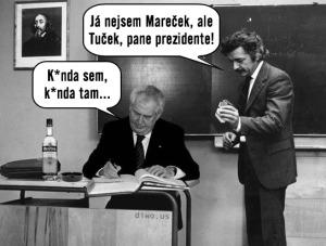 Diwous - Miloš Zeman - Kunda sem - kunda tam, Marečku podejte mi pero, Ladislav Smoljak, prezident, Tuček, vtip