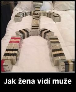 Diwous - ženský pohled, peníze, ženy, muži, postel, mrchy, vtip, humor