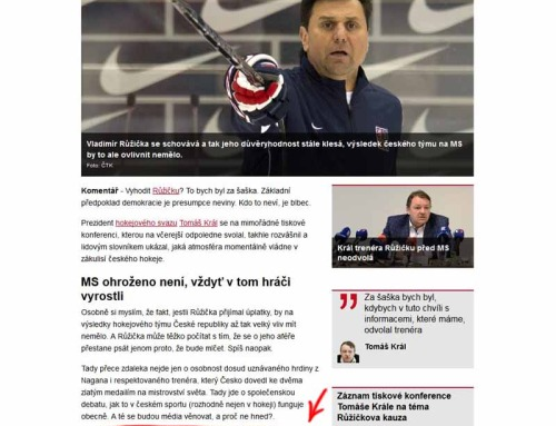 Pravý důvod, proč jsou Češi tak dobří v hokeji!