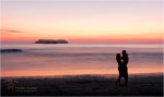 Diwous - Photography - French Love (Pacific coast, Costa Rica, Manuel Antonio beach, French couple, silhouette, sunset, ocean, fog, pacifik, Kostarika, pláž, pár, silueta, západ slunce, oceán, mlha, opar)