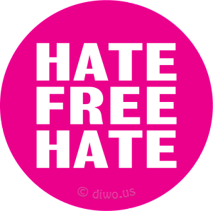 Diwous - HATE FREE HATE, Anti Hate Free Zone, iniciativa Hate Free, culture